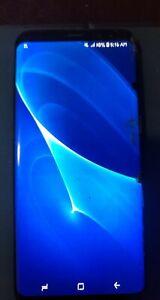 Samsung Galaxy S8+ SM-G955 - 64GB - Blue Coral (Unlocked) Smartphone BRONKEN SCR