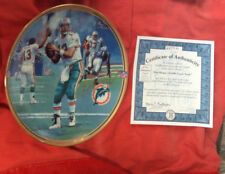 1998 Dan Marino 50,000 Career Yards Great Moments in NFL Bradford Exchange Plate
