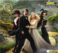 Disney Oz the Great & Powerful Movie 19 Month 2014 Wall Calendar & Widget Sealed