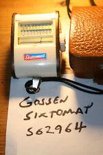 Vintage Gossen Sixtomat x3 Selenium Exposure Meter With Case, Working Well
