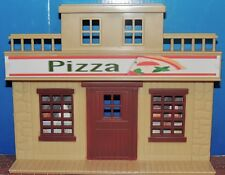 TWO SMALL TOWN  STORE FRONT WITH DOOR ASSEMBLE1:32/1:24 SCALE NEW NO BOX