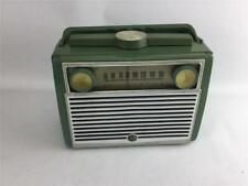 RCA Model 7/BX-8L Am Tube Radio Green