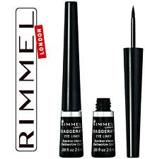 Rimmel - Exaggerate Liquid Eyeliner - 001 -  Black - 2.5ml -