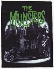THE MUNSTERS SEW ON PATCH B-MOVIE VINTAGE HORROR FILM POSTER MONSTER A6+