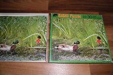 BASKI HOLZ PUZZLE mit 30 TEILEN -- nach Heinrich Gohl // Sigloch Edition ca 1980