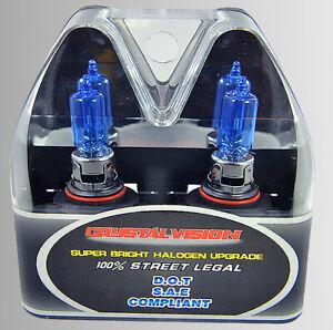 x2 9005 HB3 100W Xenon Halogen Upgrade Super White HID Replace Light Bulbs S97