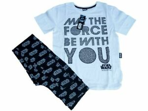 LADIES OFFICIAL STAR WARS 'MAY THE FORCE BE WITH YOU' PYJAMAS SIZES 6-8 to 18-20