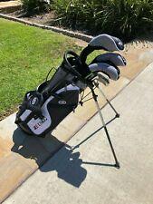 "New listing 54-60"" Tall RH US Kids Golf UltraLight Youth UL57 Junior Set with 8 Clubs"