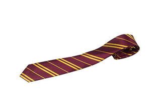 Harry Potter Tie Hogwart Book Week Gryffindor Wizard