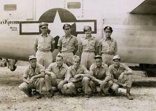 WWII Photo B-24 Liberator Crew 494th BG  WW2 / 5032