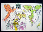 Marc Chagall Sketch for Mussorgsky from Le Plafond de L'Opera Lithograph inv981