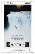 The Mission (1986)  Robert De Niro movie poster print 2