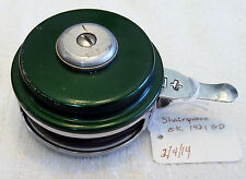 SHAKESPEARE OK 1821-GD AUTO FLY  REEL 2/4/14  WITH LINE