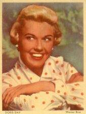 DORIS DAY PHOTO ANCIENNE VINTAGE CARD 50s 60s N°7