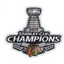 CHICAGO BLACKHAWKS 2013 STANLEY CUP CHAMPIONS PATCH CHICAGO BLACKHAWKS JERSEY
