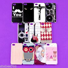 R1i Wholesale Lot 6 Colorful Back Skin TPU Hard Cover Case Apple iPhone 4 4S 4G