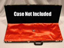 """RED """"AxeShield HD"""" Satin Protection Shroud ATTACHES To Fender Strat / Tele Case"""