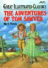 Great Illustrated Classics Adventures of Tom Sawyer Hardcover Brand NEW