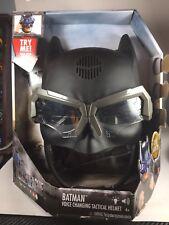 DC Comics Justice League Voice Changing Tactical Role Play Helmet - Batman