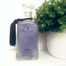 PECKSNIFF'S Lavender & White Tea Luxury Bath Soak 23.6 fl oz Glass Bottle New