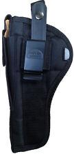 "Pro-Tech Black Nylon OWB Gun Holster Fits H&K USP Elite -6"" barrel Ambidextrous"
