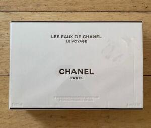 Chanel Les Eaux De Chanel Le Voyage Travel Box (3 Chanel Fragrances) BNIB