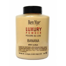 Ben Nye BANANA Luxury Powder,Poudre de Luxe..3oz/85g.*Brand New*BEWARE OF FAKES