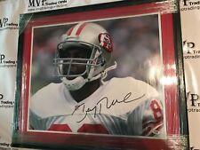 PSA/DNA Jerry Rice Autograph 20x24 San Francisco 49ers Custom Framed Photo