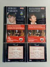CD MUSICA CLASSICA E LIRICA 6 PZ Tarasov - Yakovlev - Rachmaninov - Verdi
