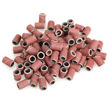 100PCS/Set Sanding Band Drill File Machine Bits Ring for Nail Art Ace