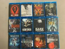 Blu-ray lot Ryde Shadowman Bus Party Hell Dark Highlands Pull Wraith Kaos Brief