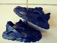 Nike Toddler Air Force 1 Black//Ochre-Blue Force 596730 053 7C