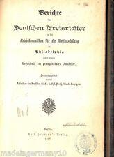 Brauwesen Bier Brauerei & andere dt. Industrien Weltausstellung USA Report 1877
