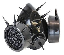 Real Gas Mask Respirator Spike Punk Goth Rave Cyber Burning man With Filter