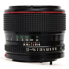 Canon 50mm f1.2 FD L Lens SN 15281