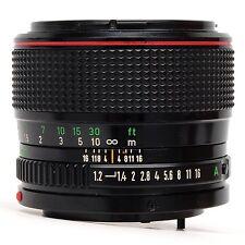 Canon 50mm f1.2 FD L Lens SN 15281