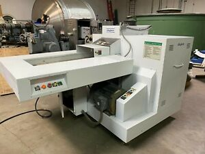 Allegheny 20-350C Heavy Duty Paper Plastic Shredder Industrial Infeed Conveyor