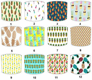 Lampshades Ideal To Match Funky Pineapple Duvet Covers, Pineapple Cushion Covers
