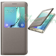 Samsung vista S Coverr Galaxy S6 bordo Oro