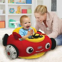 Little Tikes Red Car Cozy Coupe Plush Toddler Seat Patrol Activity Baby Chair