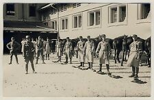 Pferde SCHWEIZER ARMEE KAVALLERIE / SWISS ARMY CAVALRY Horses * Foto-AK um 1920