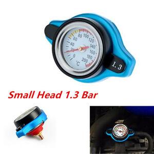 Genuine Car Thermostatic Gauge Radiator Cap 1.3 bar Small Head Water Temp Meter