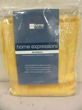 """JCPenney Home Curtain Panel Pair Sunshine Yellow 84"""" x 63"""" Drapes"""
