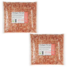 ORGANIC PINK HIMALAYAN ROCK SALT | 10KG | COARSE | Natural Food Grade Table Salt