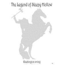 THE LEGEND OF SLEEPY HOLLOW Full NOVEL Book Text POSTER PRINT 50cm x 70cm