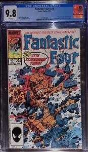FANTASTIC FOUR #274 (1985) CGC 9.8 (VENOM BLACK COSTUME SYMBIOTE Cameo)