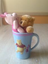 Disney Mug Featuring Pooh and Piglet With Toys