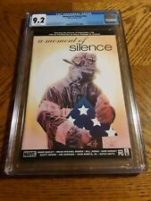 A Moment of Silence nn #1 cgc 9.2 nm 2002 911 World Trade Center Tribute Marvel