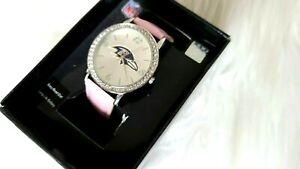 NFL Licensed Baltimore Ravens Women watch - NEW with Original Box