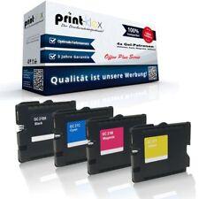 4x Compatible Cartuchos de Gel para Ricoh gc-21 kc-21k gc-21c gc- Office Plus